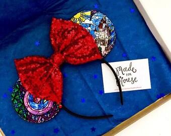 The Enchantress - Handmade Mouse Ears Headband