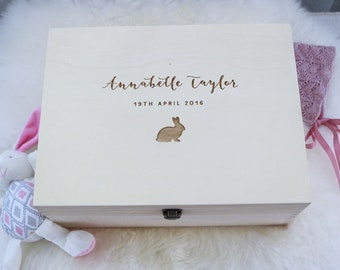 Baby Keepsake Box - Large