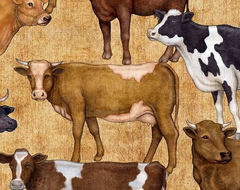 Bountiful cows,Quilting Treasures