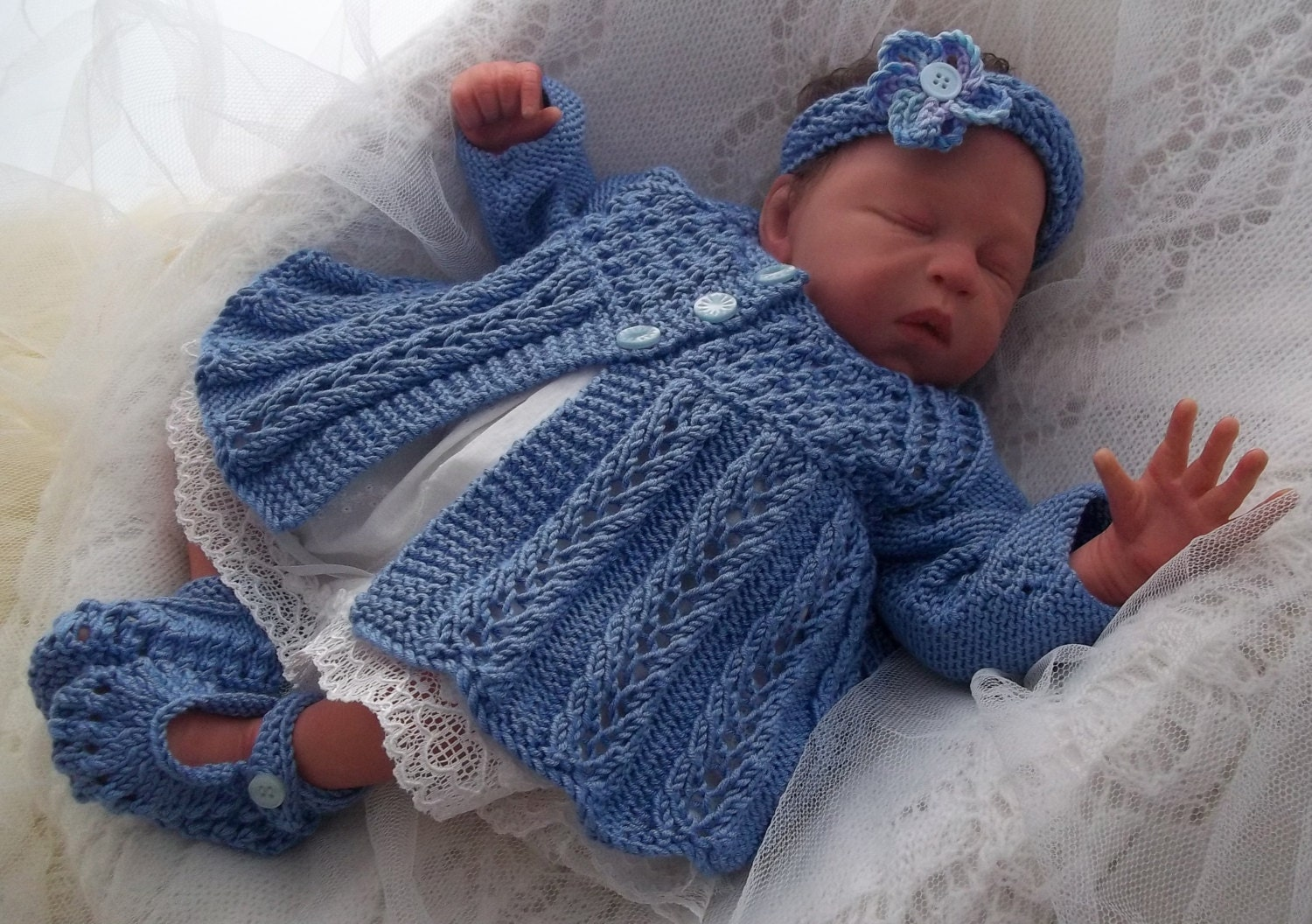 Knitting Patterns For Newborn Baby Sweaters