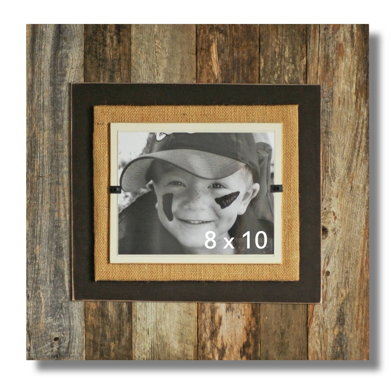 Reclaimed wood picture frame 8 x 10 4 x 6 5 x 7 wood picture 3900 jeuxipadfo Images