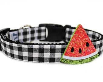 Dog Accessory Summer Dog Collar Add-on Watermelon