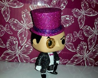 Penguin. Custom glitter pop