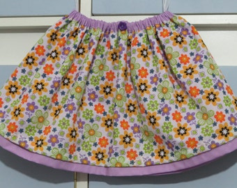 Double layer child's skirt