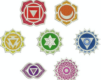 Collection Machine Embroidery Designs Instant Download - Chakra 1 Collection