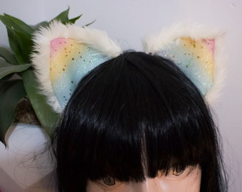 Rainbow Cloud - Cosplay Cat Ears