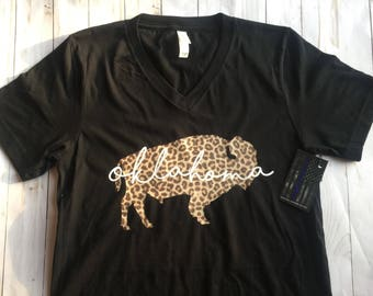 Oklahoma Leopard Buffalo