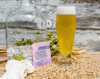 German Hefeweizen Do It Yourself 1-gallon All Grain Recipe Kit