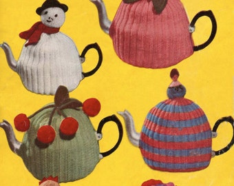 6 Tea Cosies - Digital Knitting Pattern