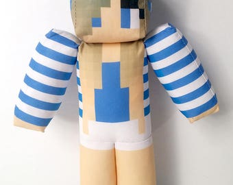 Little Carly Minecraft Plush Toy