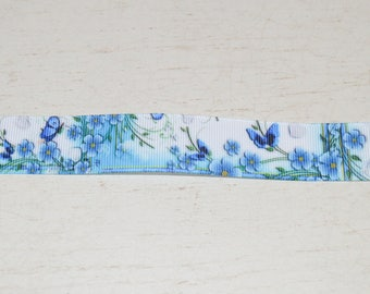 Ribbon 25 mm wide 25 Butterfly theme