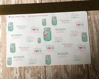 Sweet Southern Sass Stickers