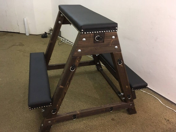 Spanking Bdsm Bench Cradle Spanish Horse Wooden Horse