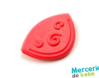 Large decorative element red sewing - Ref.: B39 - R5
