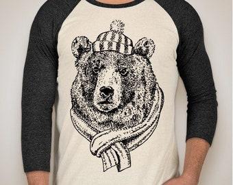 Cold Bear Coffee Co. Raglan T-Shirt