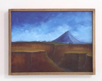 Original landscape painting, Mt. Hood