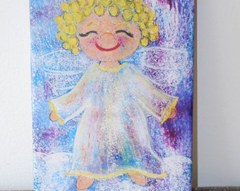 Canvas print: Guardian Angel