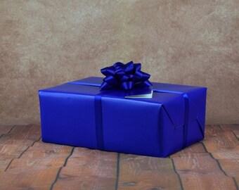 Premium Collection Gift Wrap Kit - Royal Blue