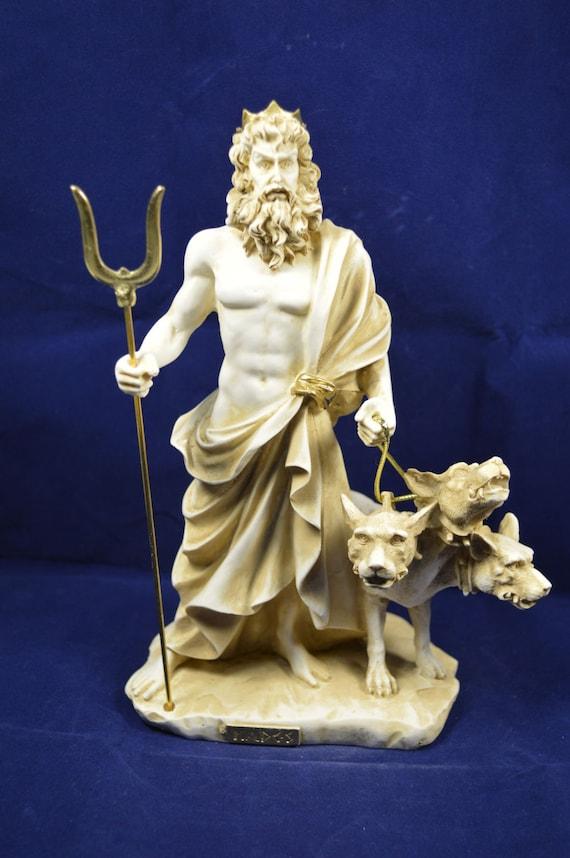 Hades sculptuur cerberus standbeeld van de leeftijd van de