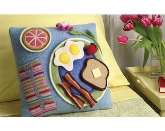 Breakfast in Bed Pillow Sewing Pattern Download(803038)