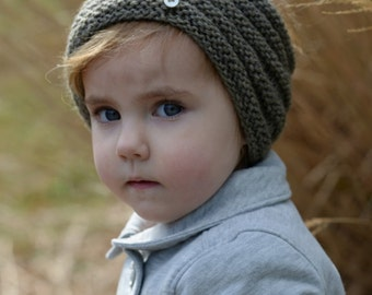 KNITTING PATTERN-The Ridgelyn Set (Toddler, Child, Adult sizes)