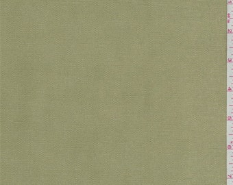 Lemongrass Cotton Canvas, Fabric By The Yard