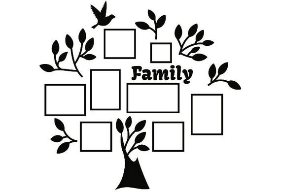 Family Tree 2 Ancestry Generation Heritage Wall Decoration
