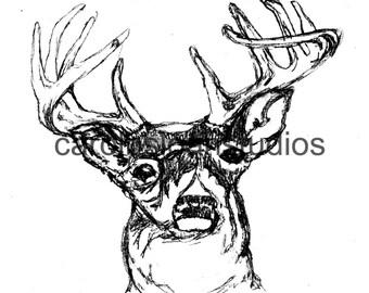 Thermofax Screen Deer