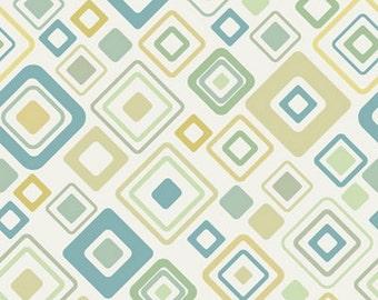 Light Blue and Green Geometric Pattern Vinyl photography backdrop , Children Newborns photography backgrounds  D8613
