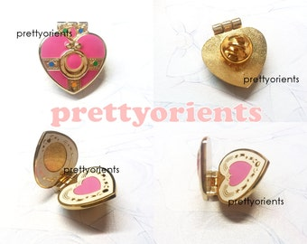 Sailor Moon Enamel Pin (Cosmic heart style, can be opened, sailormoon, cosplay)
