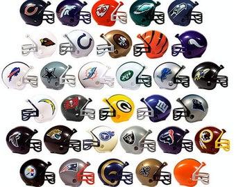 Football Helmet Keychain - CHOOSE TEAM (All Teams Available!)