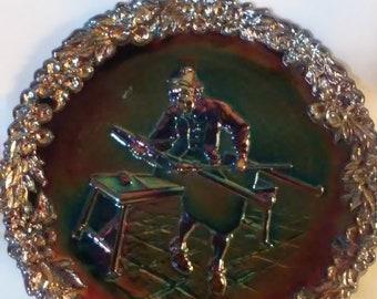 Vintage Fenton Glass Plate,(103/#3018)