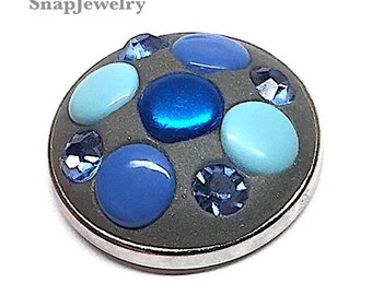 Snap Jewelry -  Snaps made with Apoxie Sculpt, Scrapbooking Grommets & Nail Art Crystals