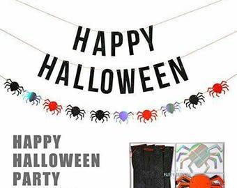 Meri Meri Halloween. Banner. Halloween. Halloween Party. Halloween Banner. Meri Meri Party. Halloween Decor. Halloween Decor. Meri Meri.