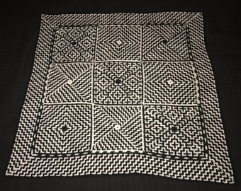 Optical Illusion Afghan