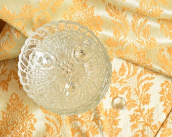 6 Vintage Anchor Hocking Bowls Burple Pattern Bon Bon Dish, Wedding Decor, Tableware