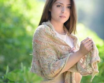 Silk Knitted Shawl