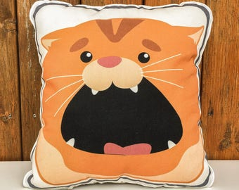 Saydi the Soft, Comfortable, huggable Cat Pillow for the home (1)