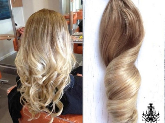 Blonde Ombre Hairstyles Colors: Items Similar To Bohemian Blonde Ombre Hair, Medium Blonde