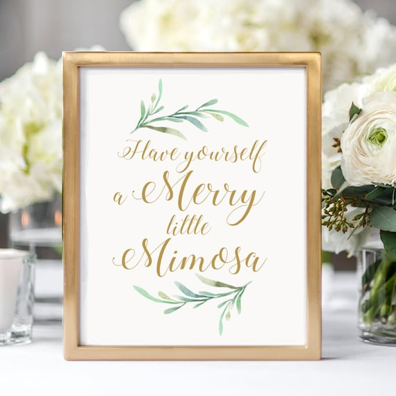 Merry little mimosa sign printable have yourself a merry merry little mimosa sign printable have yourself a merry little mimosa sign christmas 8x10 greenery printable signage download print solutioingenieria Gallery