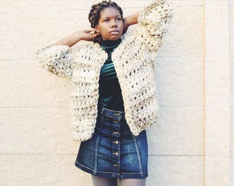 The Apricity Crochet Cardigan Pattern. Instant Download!