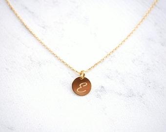 Chain initial platelets – 925 silver/Gold