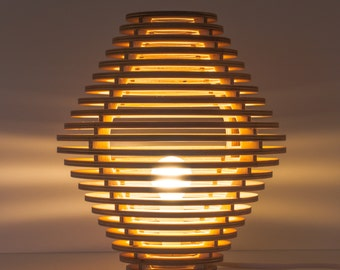 Wooden Lamp Table Lamp Bergen