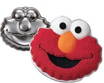 Elmo Sesame Street Cake Pan Birthday Party Wilton