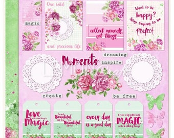 Lemoncraft Everyday Spring Scrapbook Double-Sided Image Sheet
