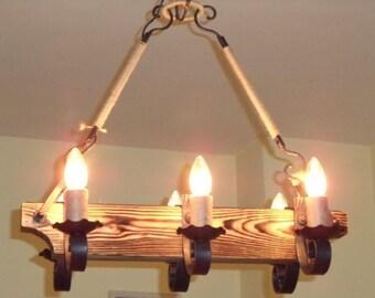Handmade chandelier - Tuida