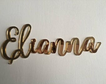 decorative acrylic letters | laser cut letters | acrylic letters | decorative letters | acrylic names
