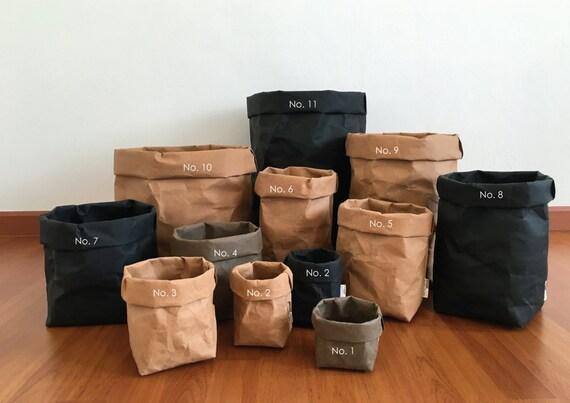 Superior Storage Basket : Kraft Paper Storage / Kitchen Basket /
