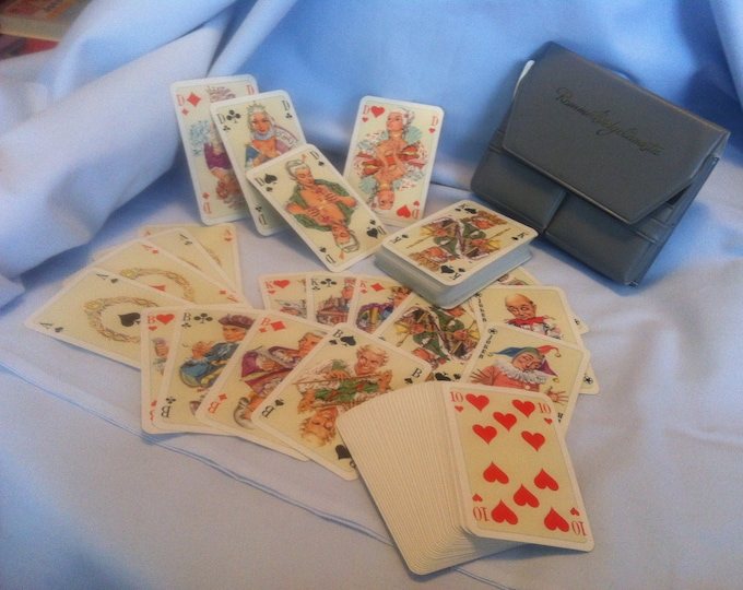 Antique card Game Games cards Rummy Canasta shipped top condition