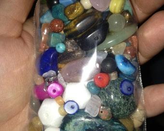 Gemstone Beads Destash Bag
